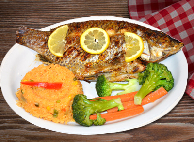Grilled Fish Whole Tilapia - Tilapia enter Asada … $19.00