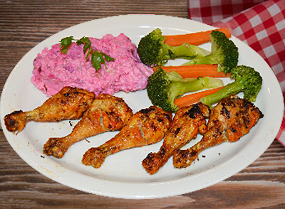 Grilled Chicken Legs - Piernas de Pollo Asada … $12.00