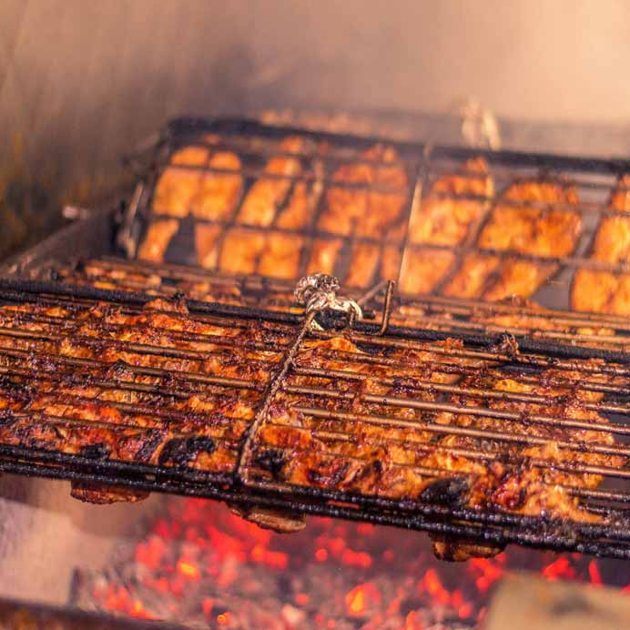 You will be liking your finger with the delicious grilled healthy food.