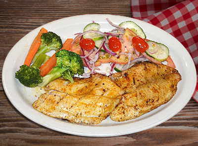 Grilled tilapia Fillet - Filete de Tilapia Asada… $14.00
