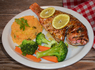 Grilled Red Snapper - Pargo Rojo Asado… $19.00
