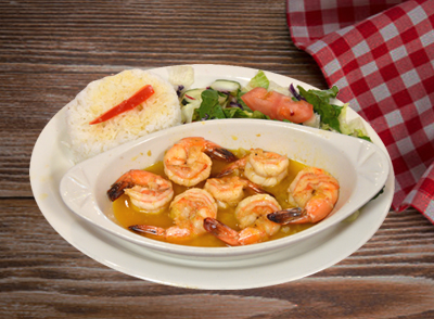 Shrimp in Garlic Sauce - Camarones al Ajillo … $15