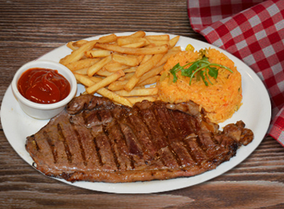 Grilled Sirloin Steak - Alkatra Asada … $16